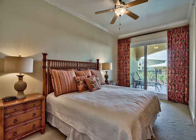 Master bedroom with King size beds