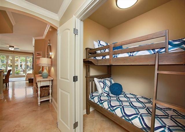 Optional bunk room