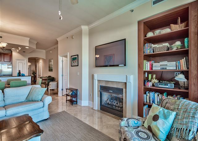 Living room with Large flat screen