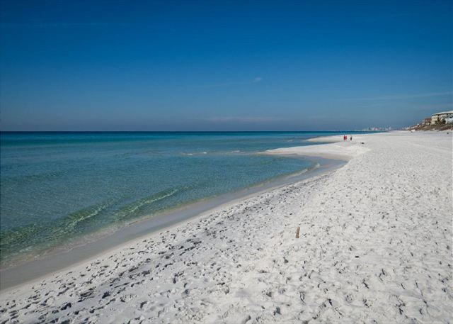 Sugar white sand beaches