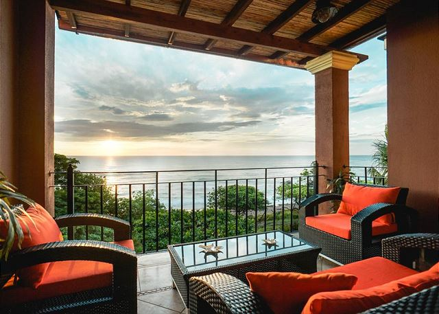 Ocean view, great patio furniture