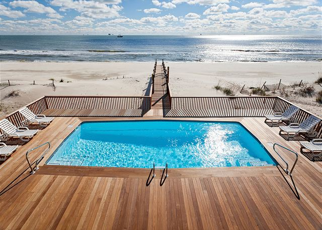Secretly, the most amazing views on the coast live right here in Fort Morgan, AL. Heated Pool Included!