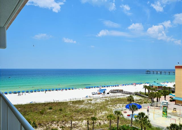 Destin West Gulfside #605: Balcony View
