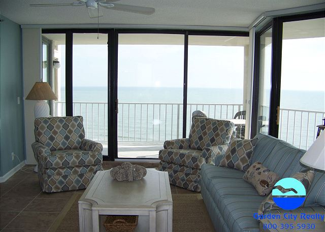 One Ocean Place 1110 - Living Area