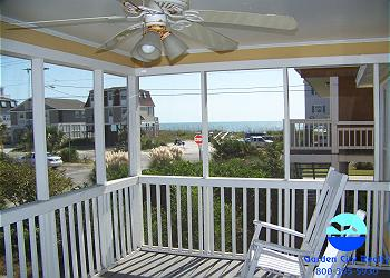 Big Ballon - Screened Porch with Ocean View