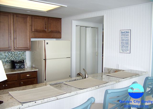 One Ocean Place 1110 - Kitchen