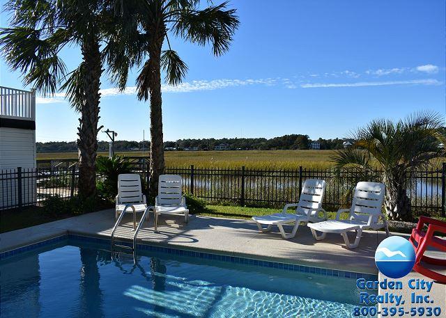 Manta Ray Mansion   Inlet/Channel   Garden City Beach Rentals