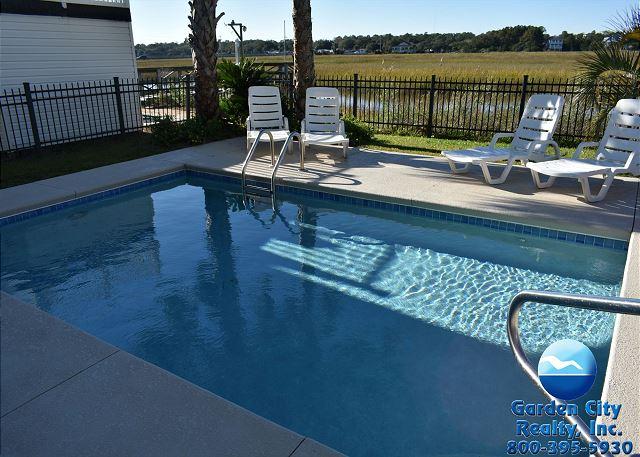 Manta Ray Mansion | Inlet/Channel | Garden City Beach Rentals