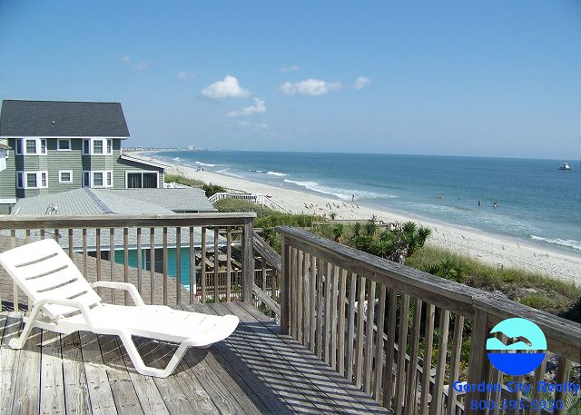 Thomas House Garden City Beach Rentals