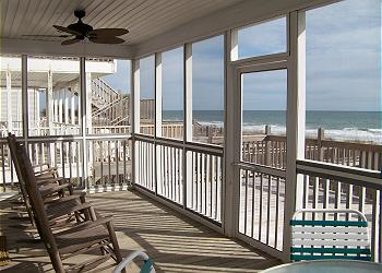 Bluewater - Screened Porch