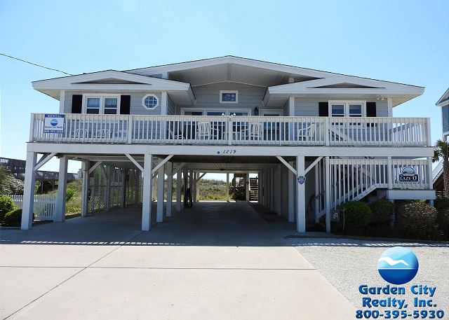 Lazy O Garden City Beach Rentals
