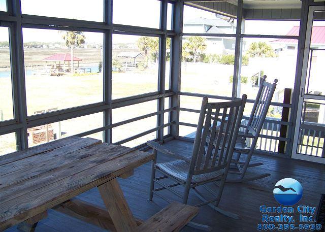 Inlet Joy - Screened Porch