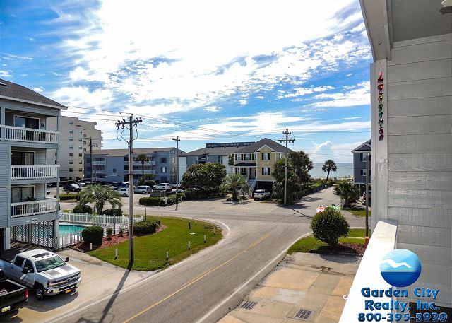 Sandy Shores I 203 Second Row Garden City Beach Rentals