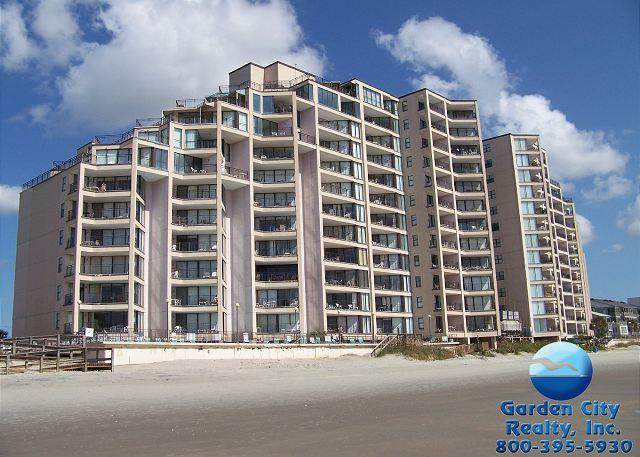 garden city beach rental property surfmaster penthouse d