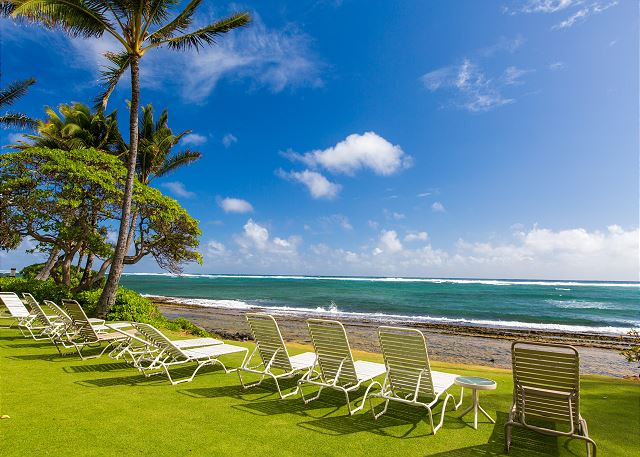Enjoy one of the many beaches along Kauai's East Coast.