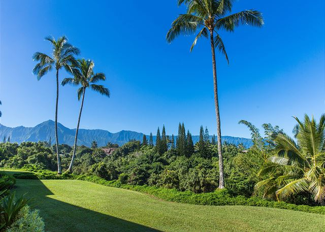 Beautiful Mountain Views from your private lanai.