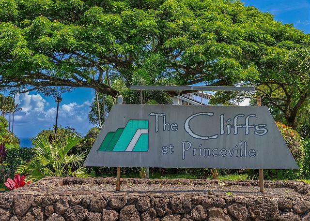 The Cliffs at Princeville Entrance