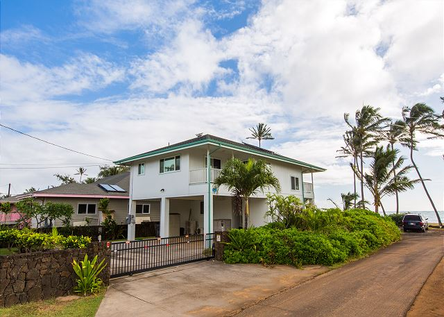 Kapaa Beachfront Home