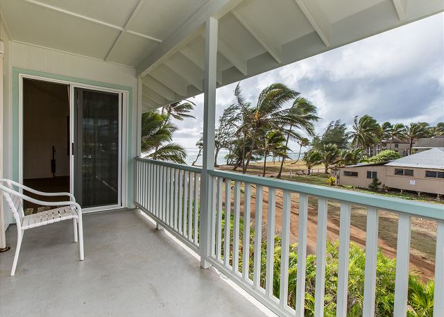 Master Lanai with Ocean Views