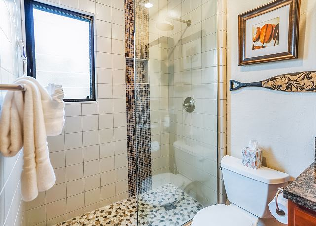 Master Full Bath with New Walk-In Shower