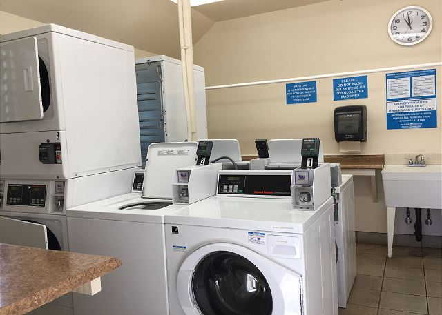 Credit Card Operated Laundry Room