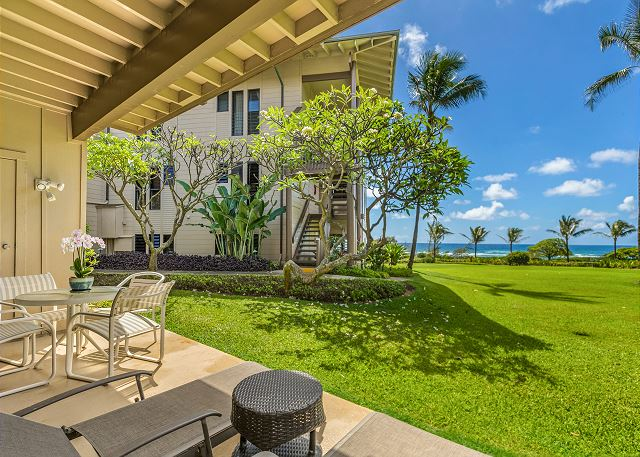 Ground floor ocean view lanai