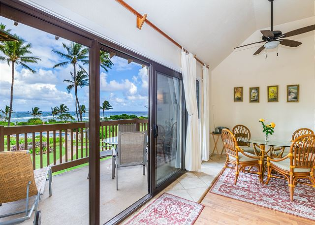 Ocean View Living Area
