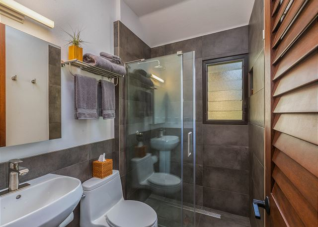 Second Bathroom with Walk-In Shower