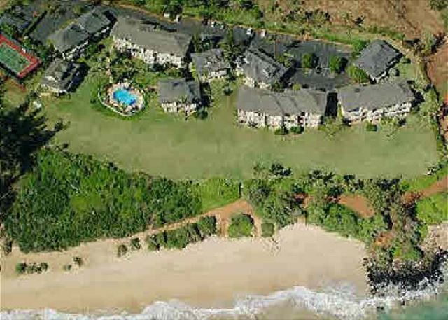 Aerial Shot of Kaha Lani Resort
