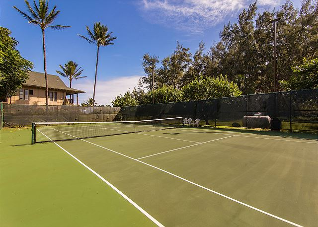 Kaha Lani Resort Tennis Court