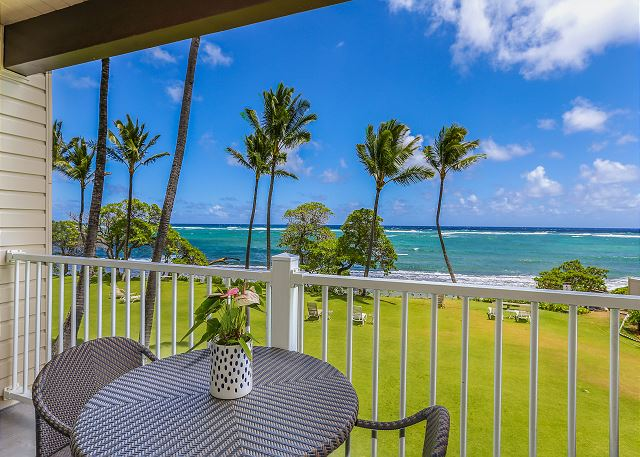 Oceanfront Views from Lanai