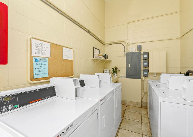 Coin Operated Laundry Room- Ground Floor