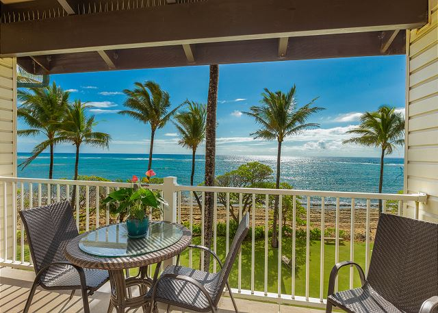 The view from your private lanai.