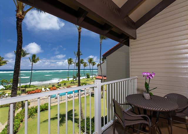 Oceanfront View from Lanai