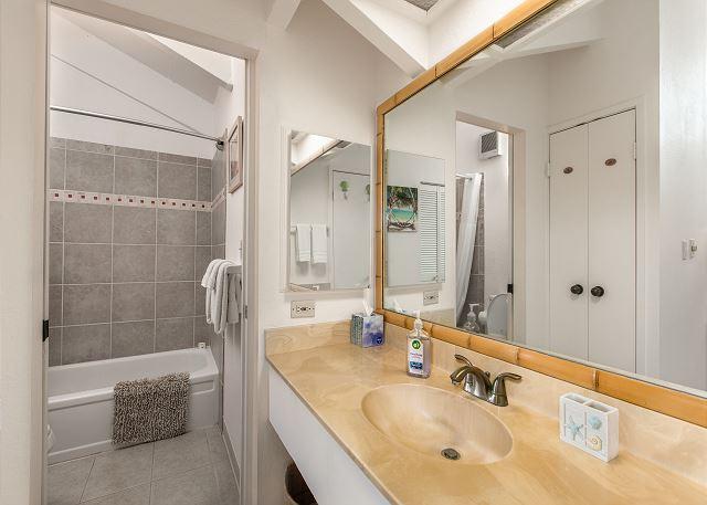 Loft Full Bathroom with Shower Tub