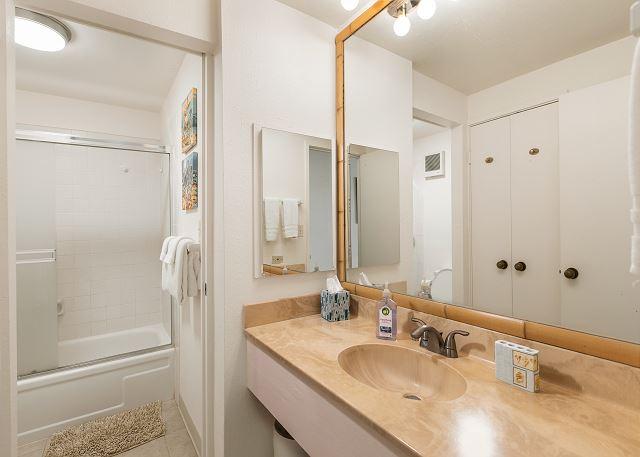 1st Floor Full Bathroom with Shower Tub