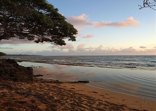 Kauai Kailani Beach at Sunset