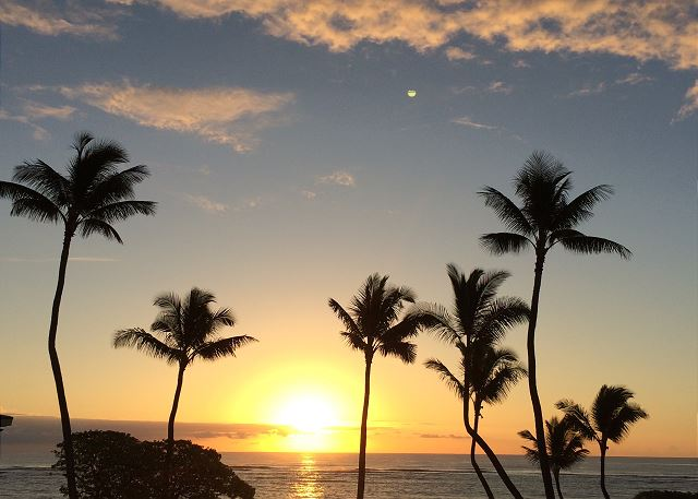 Beautiful Sunrise from Lanai
