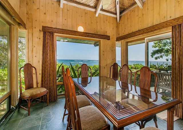 Dining with Gorgeous Oceanfront Views!