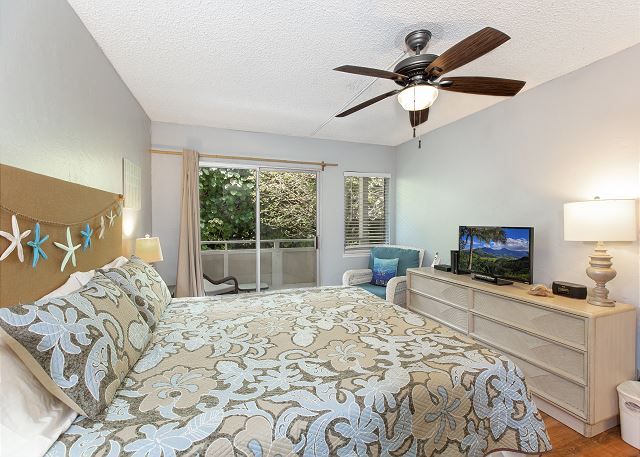 King Bedroom with Cable TV