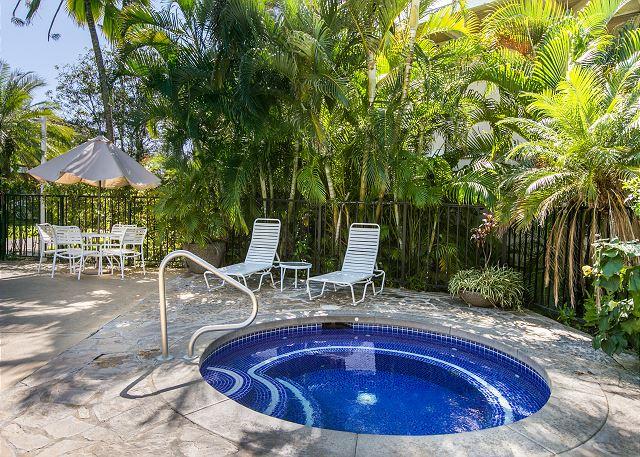 1 of 2 Hot Tubs at Plantation Hale Suites