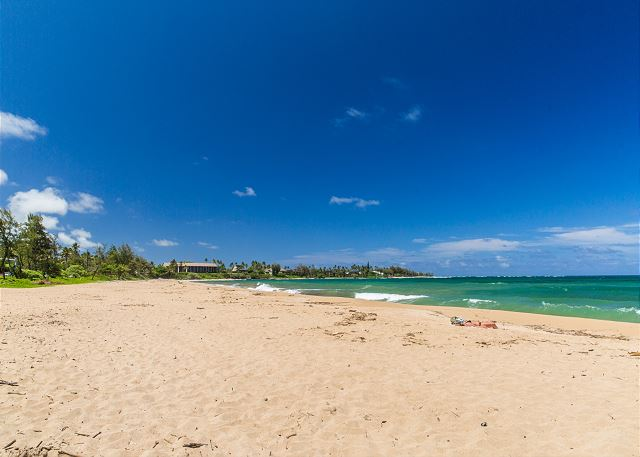 Nearby Wailua Beach