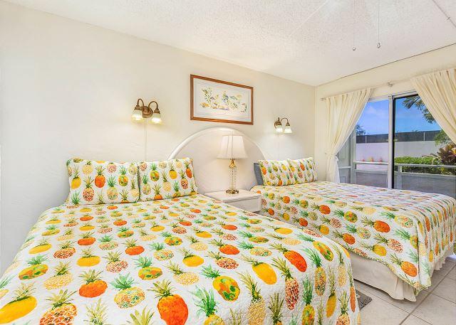 Two Queen Beds in Bedroom & AC!