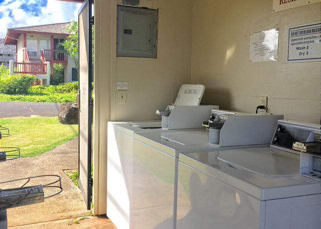 Coin Operated Laundry Room on site