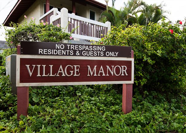 Located in Kapaa town, walk to grocery stores, shops and dining