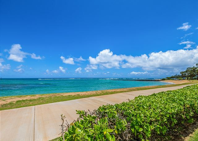 Pono Kai Beach and Coastal Path