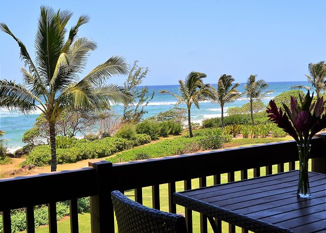 Private Oceanfront Lanai