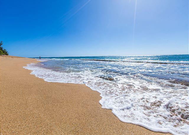 Walk across the street to beautiful sandy beaches