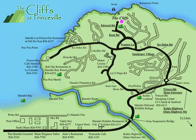 Cliffs Map