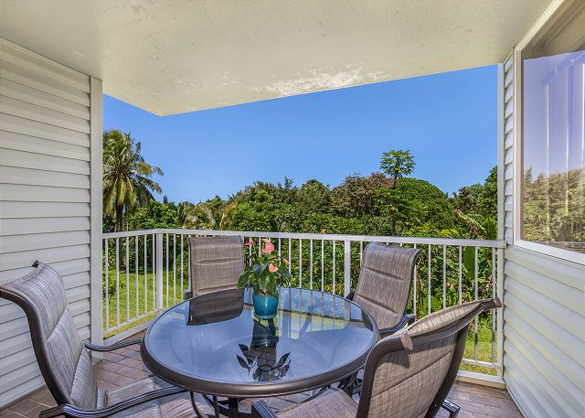 Private Outdoor Lanai
